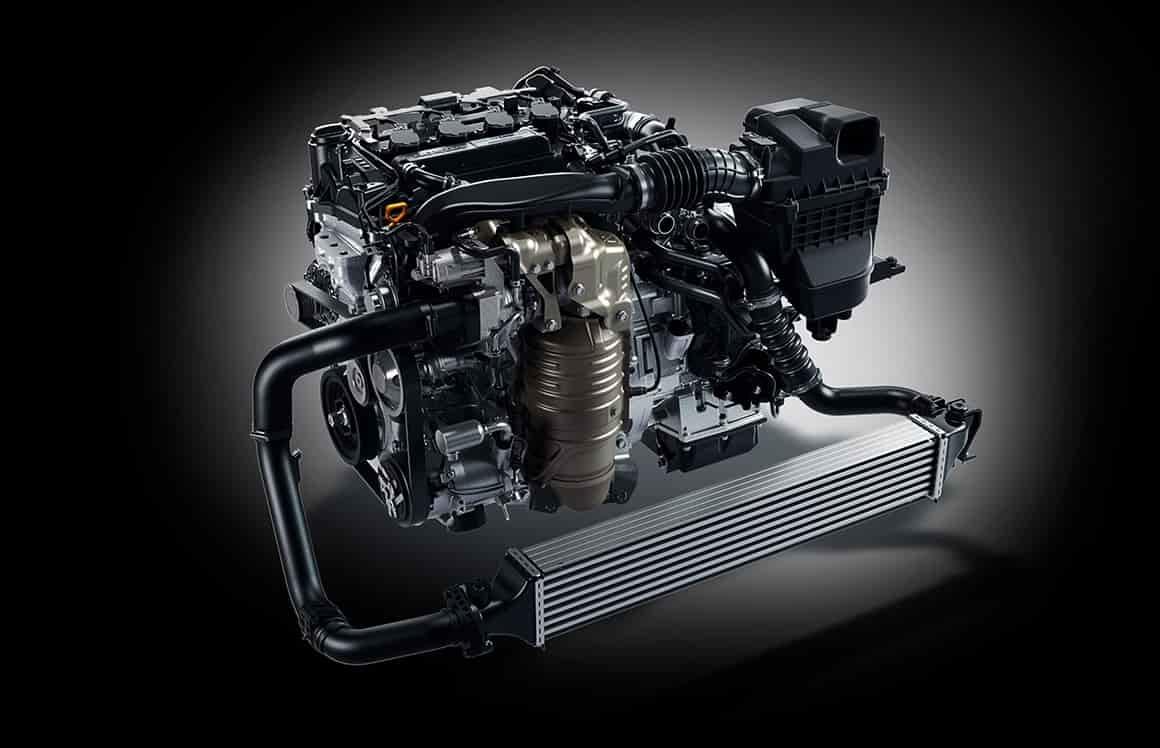シビックハッチバックは1.5Lターボで182馬力
