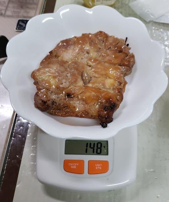 まんぷくや 高砂店 チキンステーキ 塩だれ (148g)